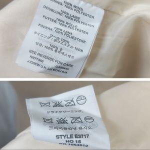 J. Crew Dresses - J. Crew Rare Double faced Wool Crepe Dress 0 Tall